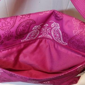 Vera Bradley Bags - NWT Vera Bradley Messenger Bag in Stamped Paisley